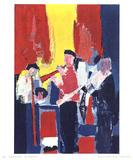 Jazz Players Samletrykk av Nicolas De Stael