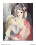 Äiti ja lapsi (Mother and Child) Julisteet tekijänä Marie Laurencin