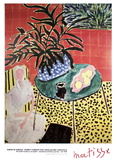 Interior with Black Fern Samlertryk af Henri Matisse
