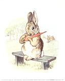 The Story of a Fierce Bad Rabbit Samlarprint av Potter, Beatrix