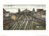 La Gare Poster by Bernard Buffet