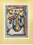 Bouquet Number One Poster av Georges Rouault