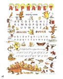Alphabet Collectable Print by Benjamin Rabier