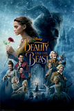 Beauty And The Beast Movie- Classic Characters Poster