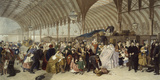 The Railway Station Giclee Print by William Powell Frith