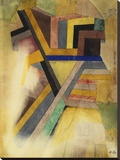 Abstract Painting Stretched Canvas Print by Paul Klee