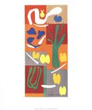 Vegetables Print by Henri Matisse