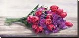 Bouquet Stretched Canvas Print by Cristina Mavaracchio