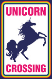 Unicorn Crossing Posters