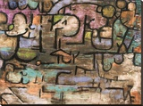 After the Flood Stretched Canvas Print by Paul Klee