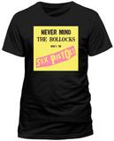 Sex Pistols- Nevermind The Bollocks Label T-Shirt