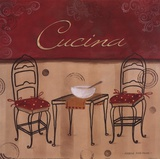 Cucina Plakater av Carol Robinson