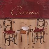 Cucina Poster von Carol Robinson