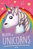 Belive In Unicorns Plakater