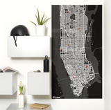 PinCity Wall Map Diary - New York Neuheit