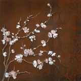 Cherry Blossoms on Cinnabar II Affiches par Janet Tava