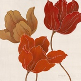 Austin's Tulips I Posters par Janet Tava