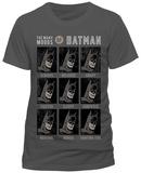 Batman- The Many Moods T-Shirts