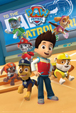 Paw Patrol- Prepped For Action Kunstdruck