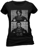 Women's: Supernatural- Mug Shots T-skjorter