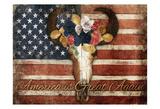 American Is Great Again Bull Poster