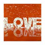 Love2 Reproduction procédé giclée par Ben Bonart