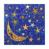 La nuit étoilée Reproduction procédé giclée par Ben Bonart