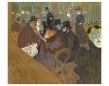At the Moulin Rouge, 1892-95 Pósters por Henri de Toulouse-Lautrec