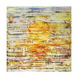 Lever du soleil Reproduction procédé giclée par Ben Bonart