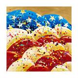 Billowing Flag Reproduction procédé giclée par Ben Bonart