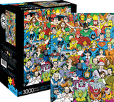 DC Comics Line Up 3000 Piece Jigsaw Puzzle Jigsaw Puzzle