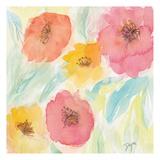 Soft Floral I Plakat av Beverly Dyer