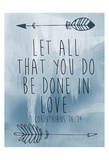 Corinthians 16-14 Posters by Victoria Brown