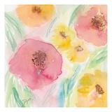 Soft Floral II Posters av Beverly Dyer