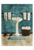 Teal Wine SInk Posters af Jace Grey