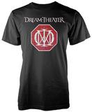 Dream Theatre- Distressed Band Logo Shield T-Shirt