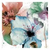 Pink Flowers 2 Poster par Victoria Brown