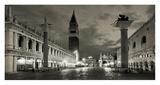 Piazza San Marco, Venice Giclée-tryk af Vadim Ratsenskiy