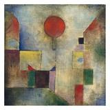 Red balloon Giclee-trykk av Paul Klee
