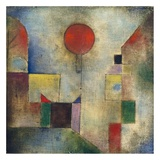 Red balloon Giclee Print by Paul Klee