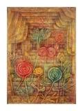 Spiral Flowers Giclée-tryk af Paul Klee