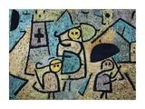 Protected Children Giclée-tryk af Paul Klee