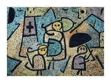 Protected Children Giclee Print by Paul Klee
