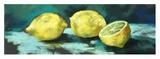 Citrons Reproduction procédé giclée par Nel Whatmore