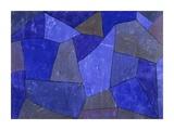 Rocks at Night Giclee-trykk av Paul Klee