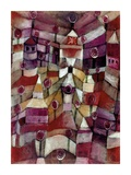 Rose Garden Giclee Print by Paul Klee