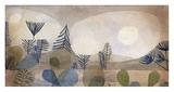 Oceanic Landscape Giclée-tryk af Paul Klee