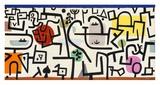 Rich Harbour (detail) Reproduction procédé giclée par Paul Klee