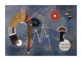 Round and Pointed Impressão giclée por Wassily Kandinsky