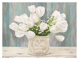 Bouquet campagnard Reproduction procédé giclée par Remy Dellal